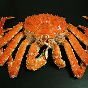 本タラバ蟹足1㎏ 2片 産地 ロシア産